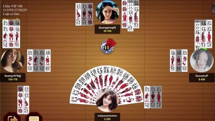 Cách tính điểm trong quá trình chơi bài Chắn